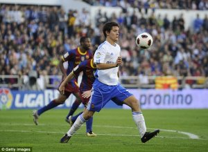 The case refers to a match involving Herrera at his first club in Spain, Real Zaragoza [www.AmenRadio.net]