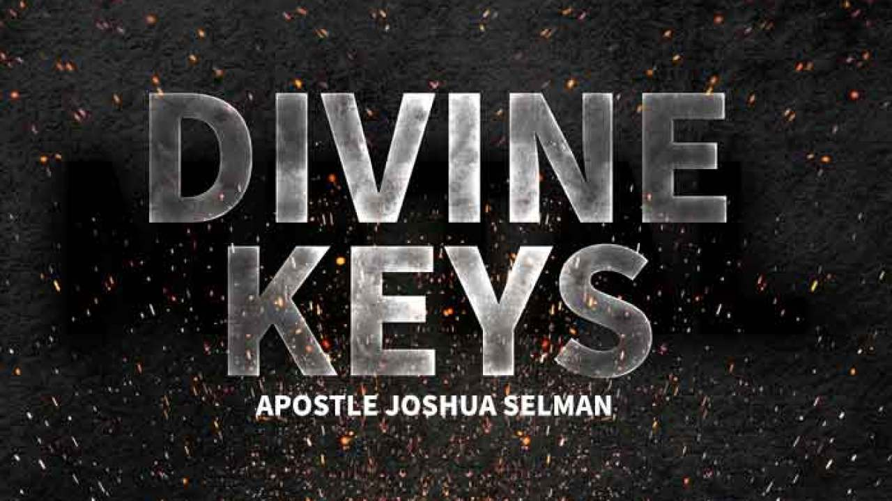 Semon Mp3: Joshua Selman Message On Divine Keys | AmenRadio