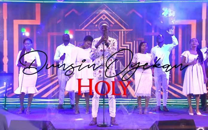 Download Video: Holy - Dunsin Oyekan   Gospel Songs Mp3 Music