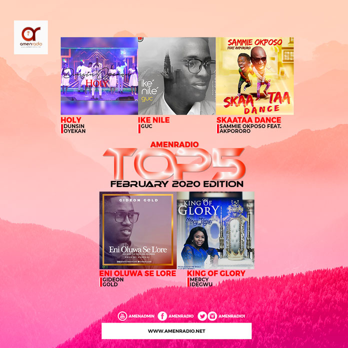 Download Top 5 Best Trending Gospel Songs For February 2020