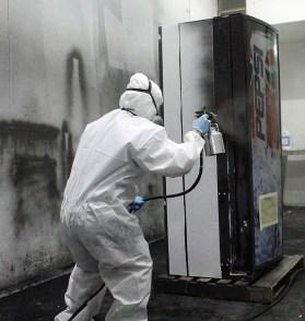 OSHA paint booth