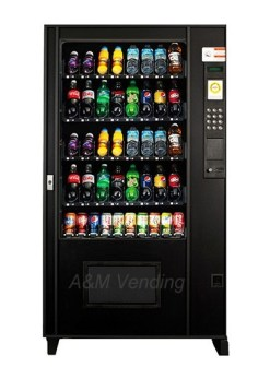 ams 5w drink with 1 can refurb - Refurbished AMS Bev 40 Drink Machine