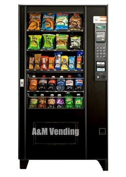 ams35 used drink snack combo machine - Used AMS 35 Combo Vending Machine