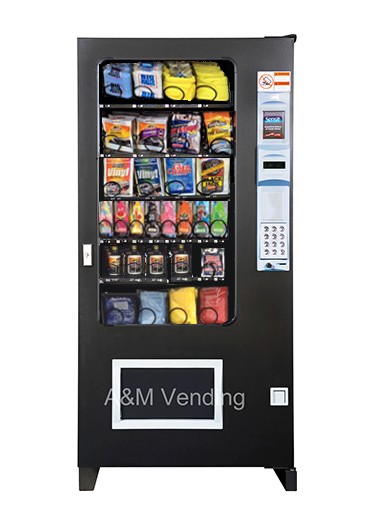 4 wide Snack carwash - AMS 35  Car wash Vending Machine