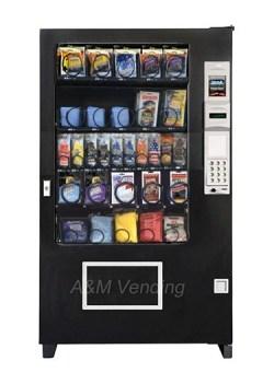 AMS 39 Carwash inside. - AMS 39 Car Wash Vending Machine