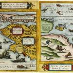 map of Quvirae and Anian