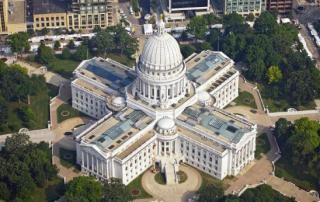Old World Wisconsin State capitol in madison