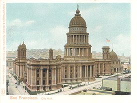 1900's image of the San Francisco Bey City Hall