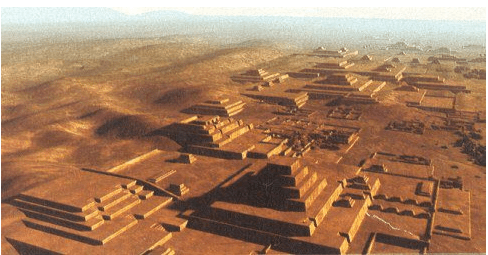 The largest adobe pyramid complex