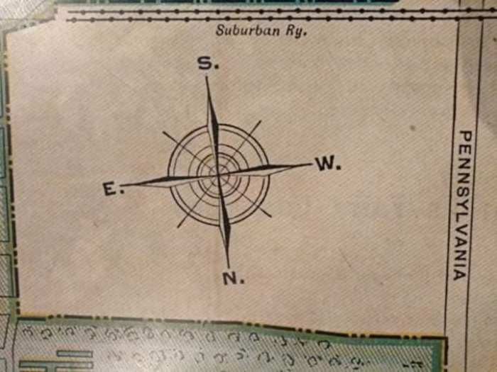 The First compass