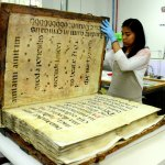 Old World 300 year old Giant Book from Tartary