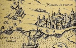Old World Map of El Dorado