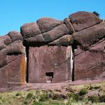 The Gate of the Gods in Peru