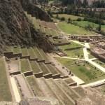 ollanytaytambo terraces in Peru