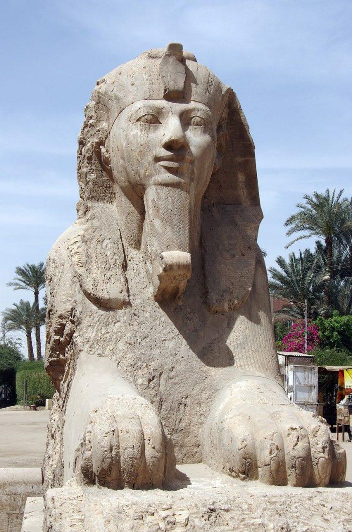 The Alabaster Sphinx of Memphis, TN