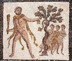 Hercules slaying the Dragon