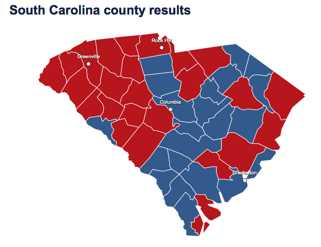 South Carolina is the citadel of the Republican South ...