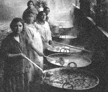 Soup Kitchens Great Depression Types Pots Used
