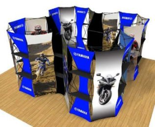 Xpressions Connex Trade Show Pop Up Display Kit 20x20B