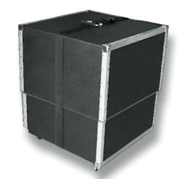 10x20 Wheeled Hard Case Interlocking Tile Floors
