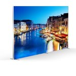 Free Standing Backlit Tension Fabric Displays stand