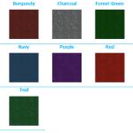 advantage 16 oz carpet colour choices trade show carpet bags