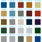 Advantage 30 oz carpet, color choices 1 tradeshow carpet