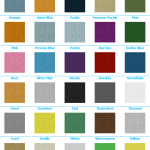 advantage 30 oz color choices 2 - trade show carpeting