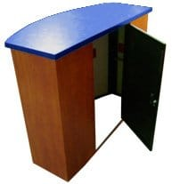 expo furniture trade show counters