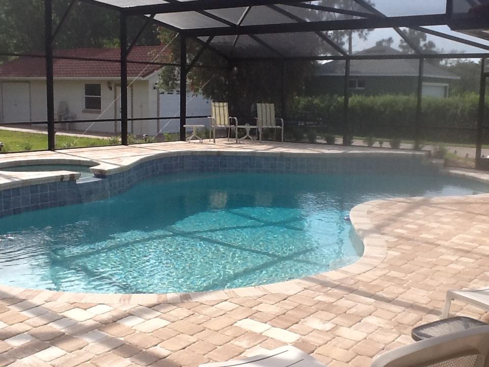 Pool Deck Pavers -Orlando, FL | American Pools & Spas on Pool Deck Patio Ideas  id=71690
