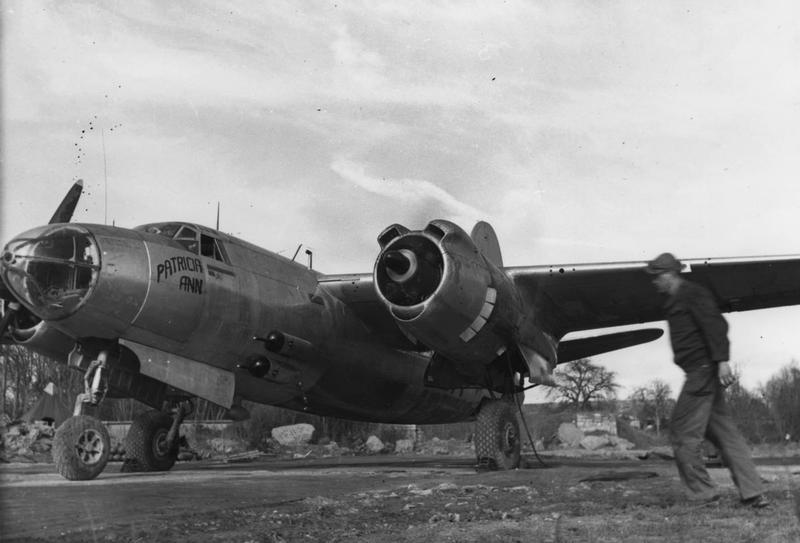 A B-26 Marauder (serial number 43-34132) nicknamed