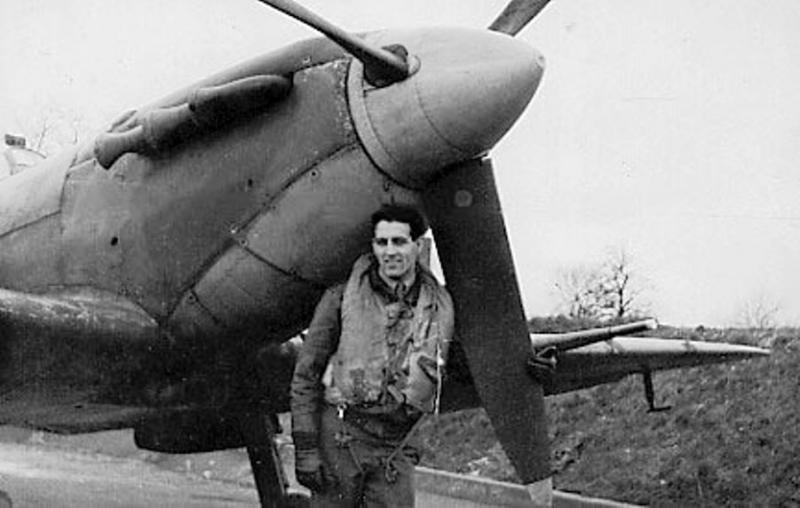 1st Lt Dominic 'Don' Gentile and Spitfire BL255 'Buckeye-Don', 336th FS, 4th FG, 8th AF.