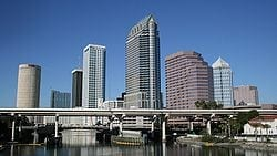 Car Transport from Tampa to Los Angeles