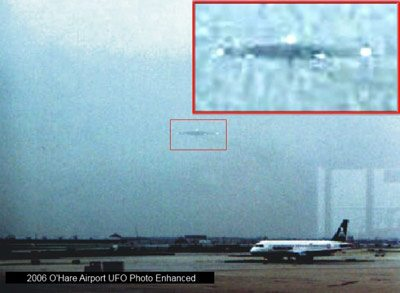 O'Hare International Airport UFO sighting