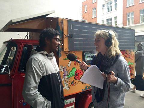 Naveen Rabelli at BBC, London
