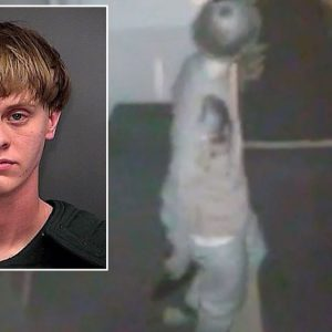 Dylann Roof on killing spree in church