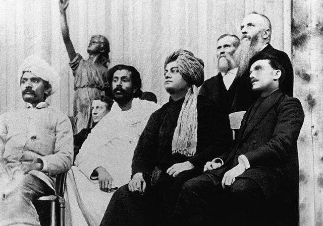 Swami Vivekananda at Parliament of the World's Religions in Chicago