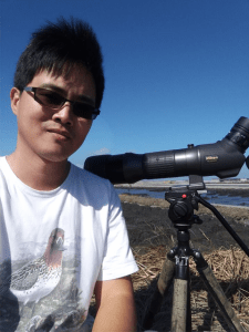 Chuck Hung with the Taiwan Tourism Bureau will be speaking at the 2018 American Birding Expo.