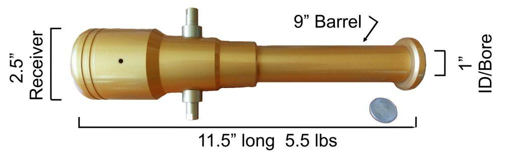 American Cannons black powder golfball launchers