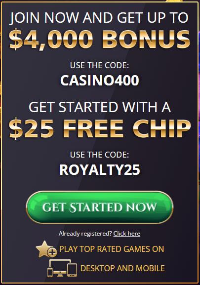 Royal Ace Casino No Deposit Bonus $25 Free