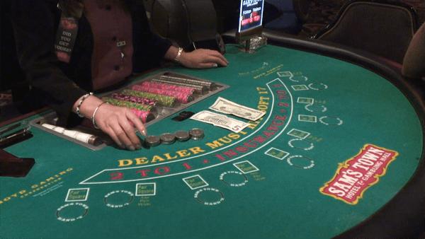 how to play blackjack: buy in