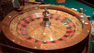 double zero roulette wheel