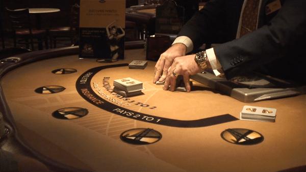 blackjack shuffle   American Casino Guide Book