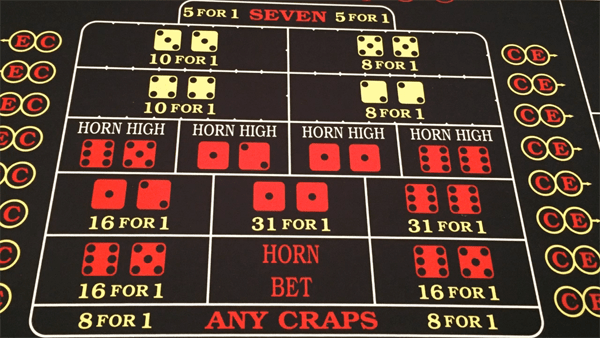 proposition bets in craps