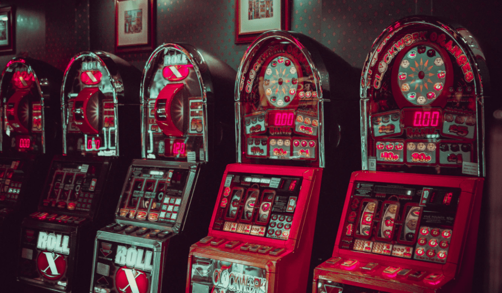 slot machines in the UK