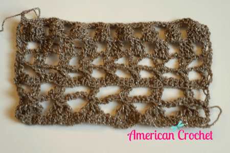 Mystery Scarf CAL Section 2 | Free Crochet Pattern | American Crochet @americancrochet.com #freecrochetpattern