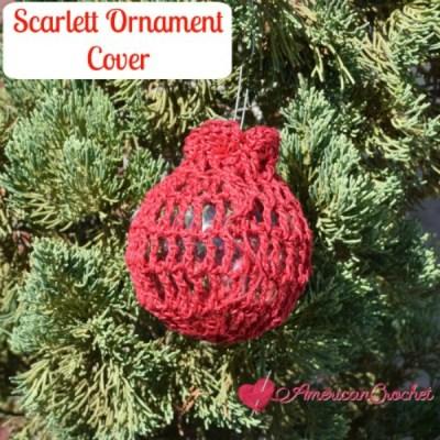 Scarlett Ornament Cover
