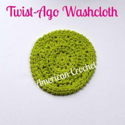 Twist-Ago Washcloth