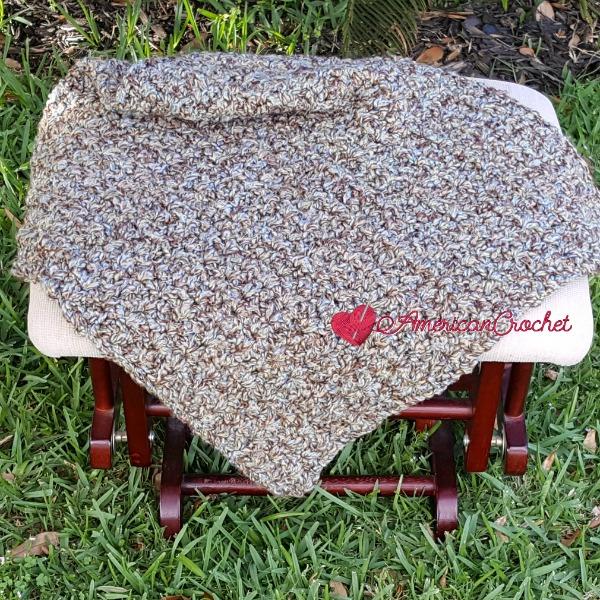 AM Preemie Blanket | Free Crochet Pattern | American Crochet @americancrochet.com #freecrochetpattern