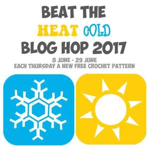 Beat The Heat Cold Blog Hop free crochet patterns @americancrochet.com